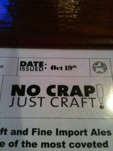 No Crap Just Craft! The Distillery