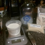 Yeast Starter Equipment/Ingredients