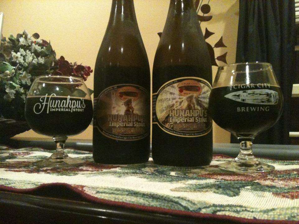 Cigar City Brewing Hunahpu S Imperial Stout 2012 2013 Brew Drink Run Craft Beer And Running Podcast