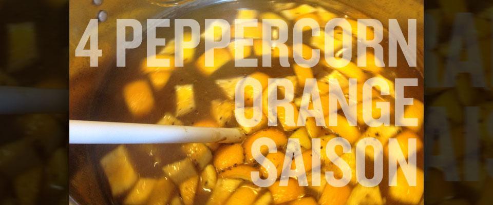 four peppercorn orange saison