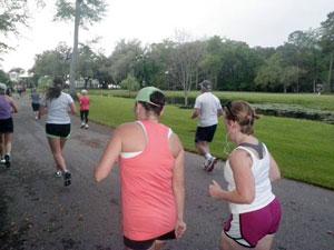 beaufort twilight run course