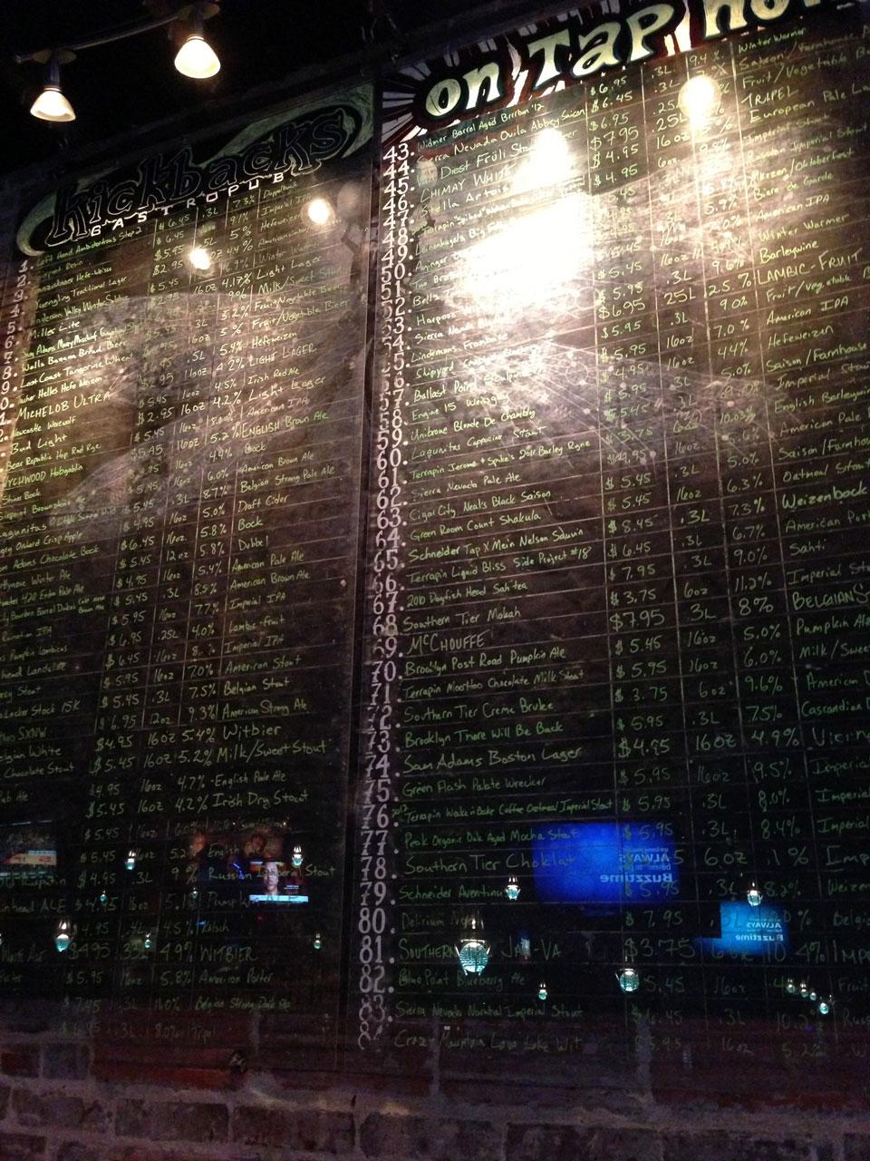 craft beer selection jacksonville, fl