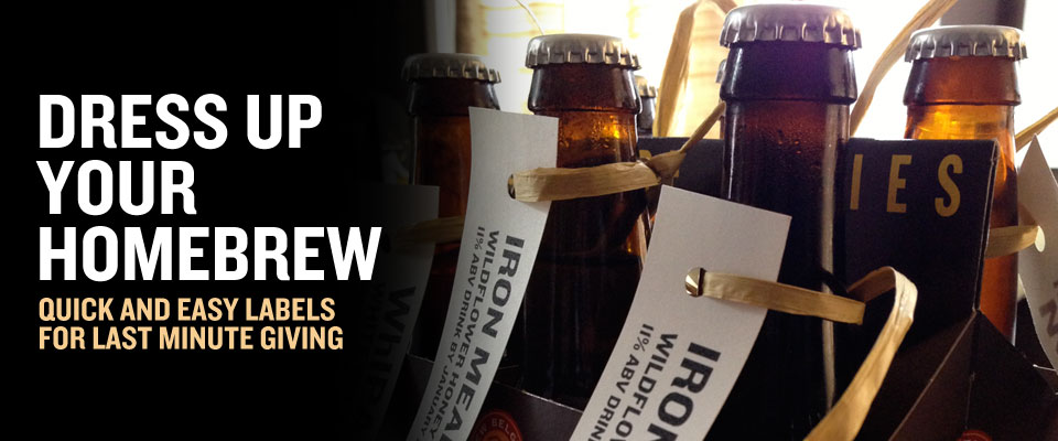 Quick and Easy Homebrew Labels | Brew / Drink / Run Craft Beer and ...