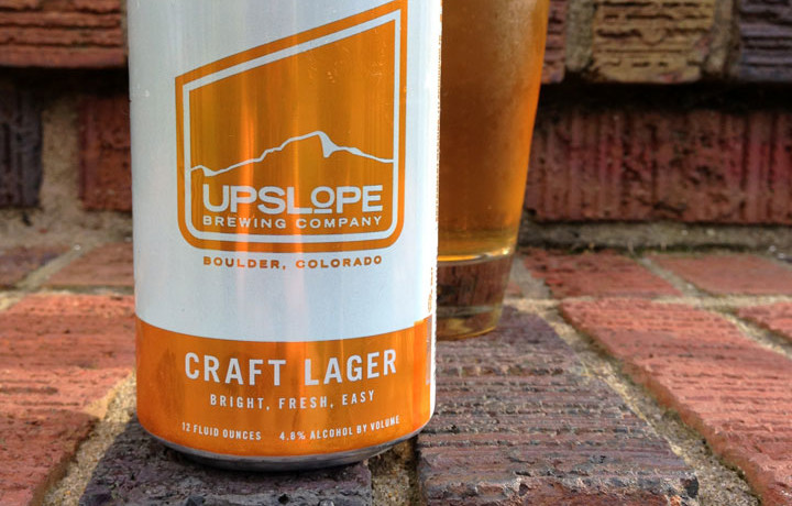 upslope craft lager