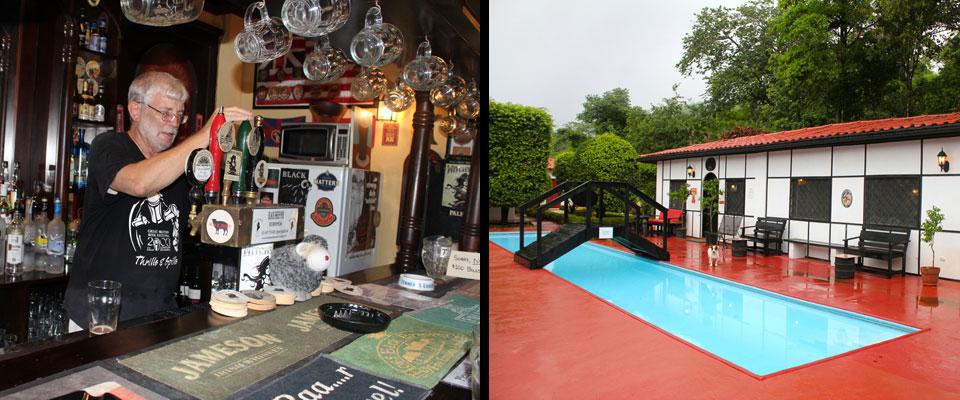 The Black Sheep Pub in Nosara