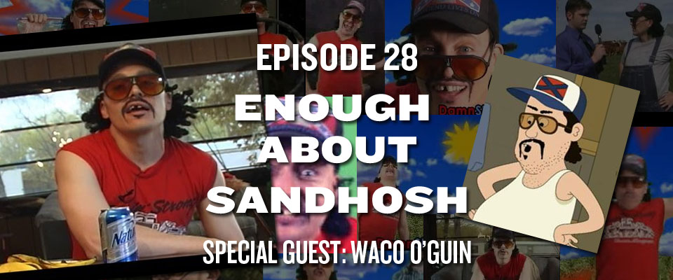 ep28 craft beer, running podcast w guest waco o'guin from brickleberry,Waco Meme