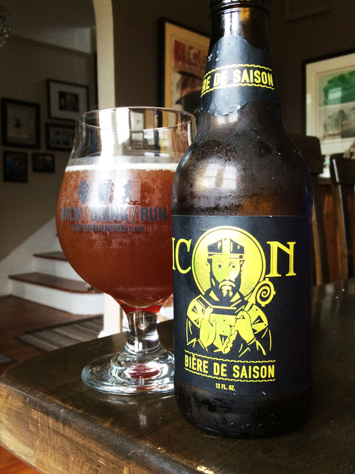 saint arnold brewing company icon series bi re de saison brew drink run craft beer and. Black Bedroom Furniture Sets. Home Design Ideas