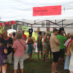 visitors at nosara craft beer festival