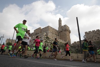 jerusalem marathon old city