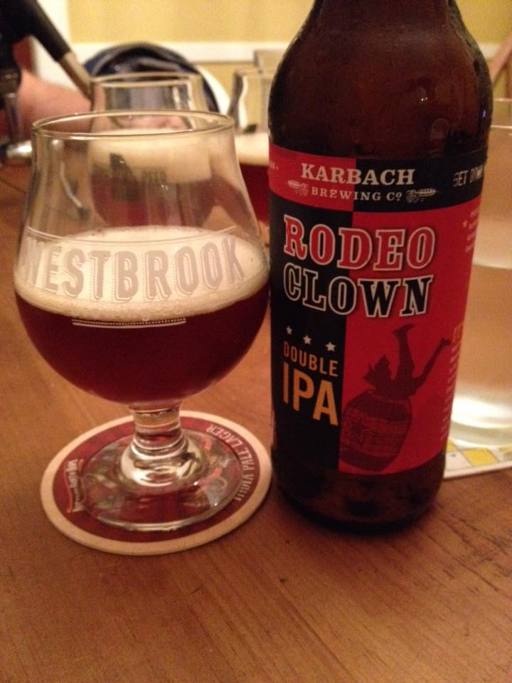 Karbach Brewing Co Rodeo Clown Brew Drink Run Craft