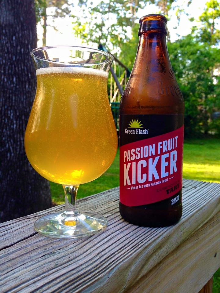 a0f5f6018df Green Flash Passion Fruit Kicker | Brew / Drink / Run Craft Beer and ...