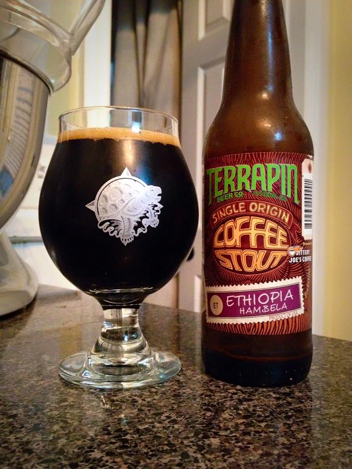 Terrapin Single Origin Coffee Stout Ethiopian Hambela Brew Drink Run Craft Beer And Running Podcast