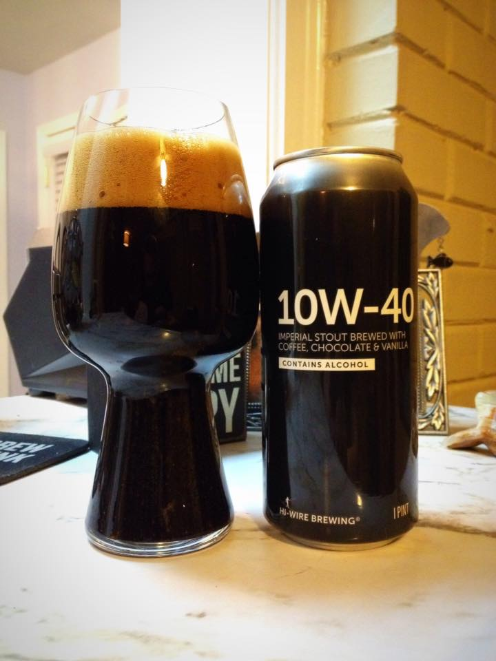 Hi Wire Brewing 10w 40 Brew Drink Run Craft Beer And