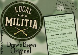 LoCal Militia Label