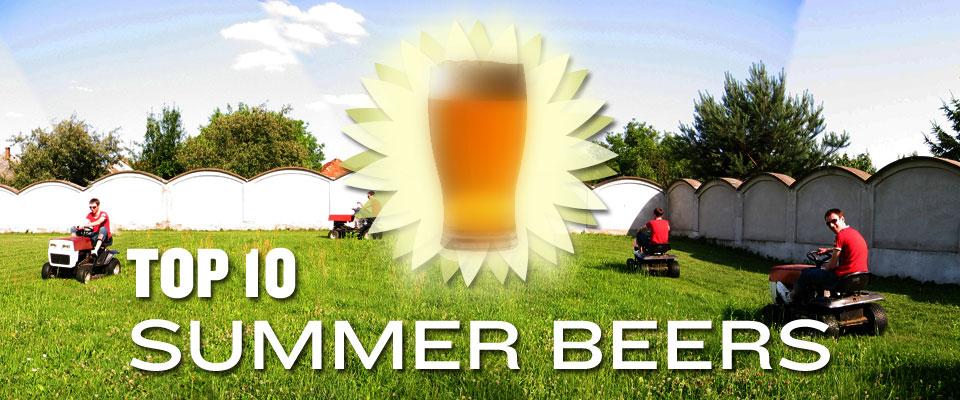 TOP 10 SUMMER BEERS