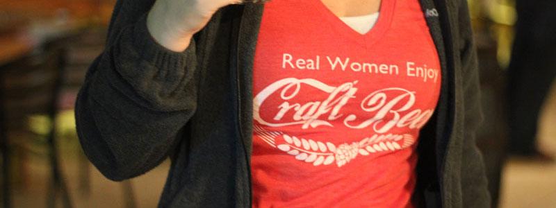 womens craft beer shirt