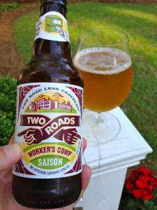 Two Roads Worker's Comp Saison