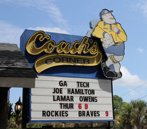 Coach's Corner on Victory Dr.