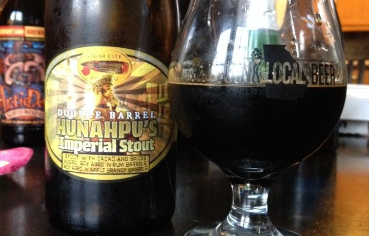Cigar City Brewing Hunahpu S Imperial Stout Double Barrel Aged Brew Drink Run Craft Beer And Running Podcast