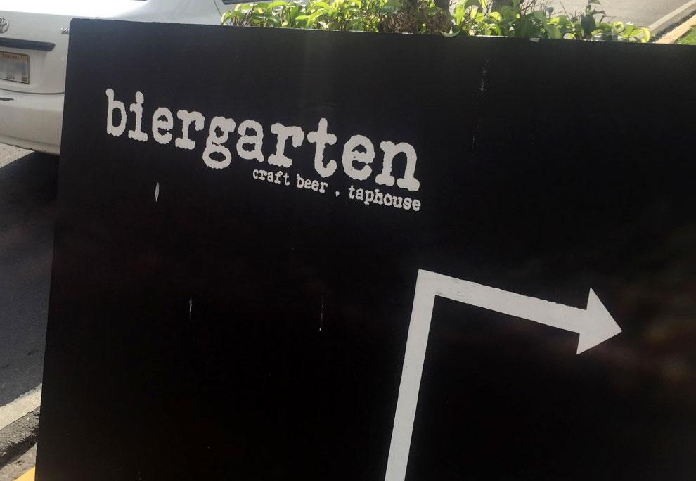 biergarten-sign