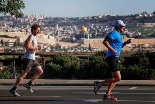 jerusalem marathon dome of the rock