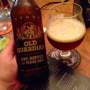stone old guardian with pekko hops