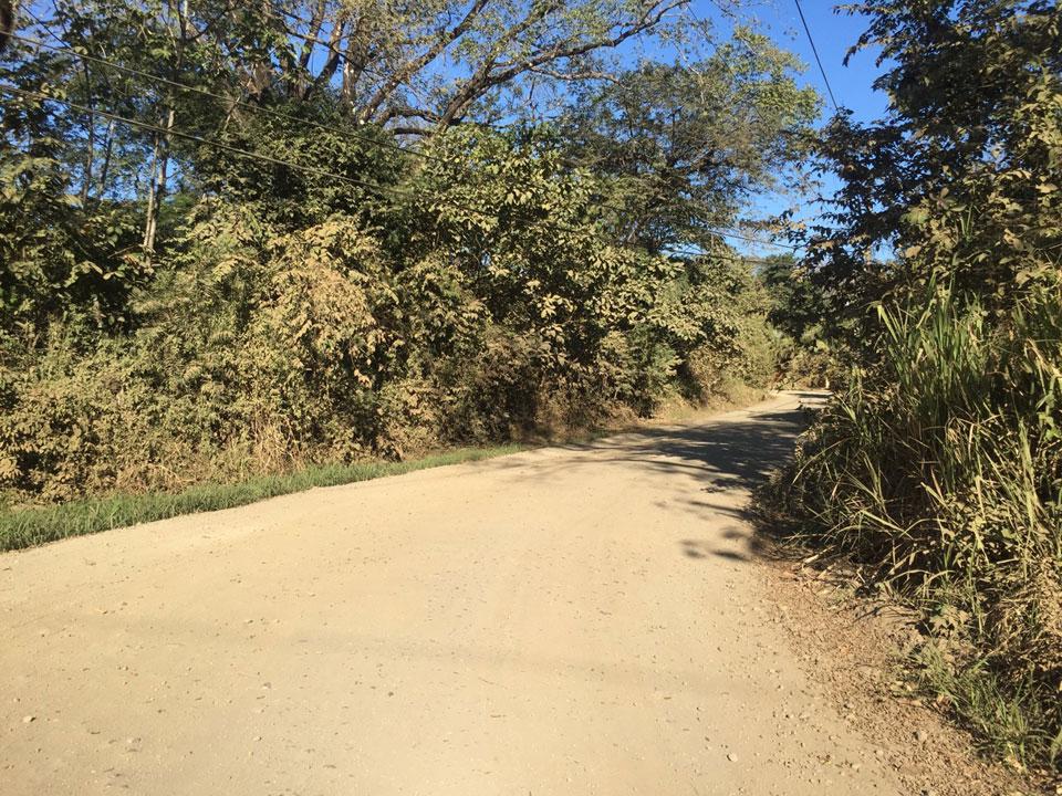 dusty road costa rica