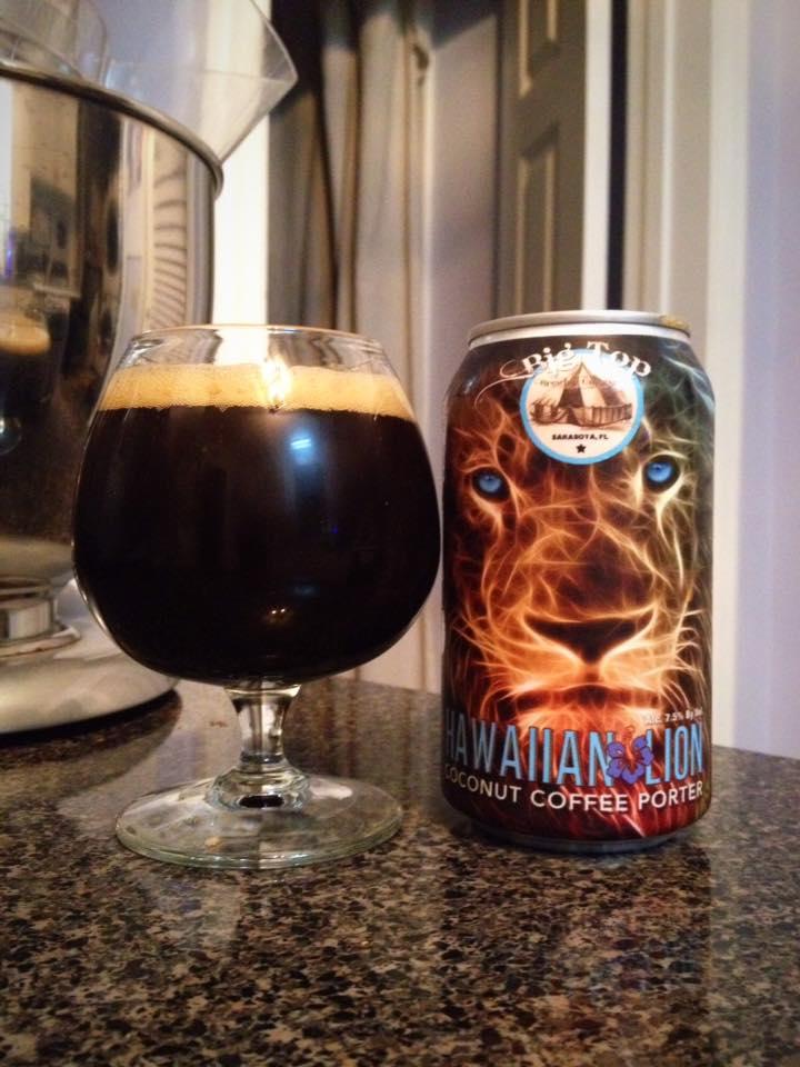 Big Top Brewing Hawaiian Lion Brew Drink Run Craft