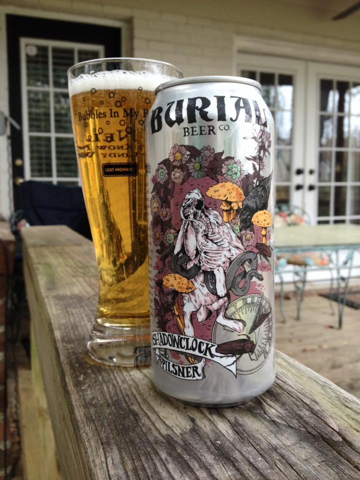 Burial Beer Company Shadowclock Pilsner Brew Drink Run Craft And Running Podcast